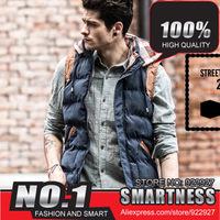2014  free shipping new winter vest men Warm Man's outdoors jacket Fashion Waistcoat , men vest slim casual waistcoat  cOL-6007