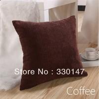 "Almofadas Decorativas Cojines 1pcs Sofa Home Decor Corn Kernels Corduroy Square Pillow Case Cushion Cover 17"" New Fashion B.c"
