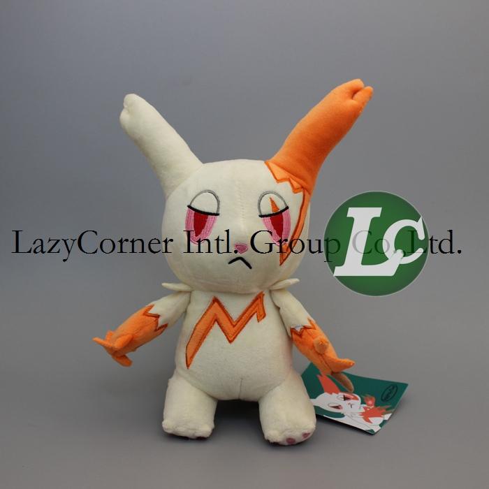 New Arrival 24cm High Quality Pokemon Zangoose Rabbit Stuffed Animal Plush Toy With Tag Free Shipping(China (Mainland))