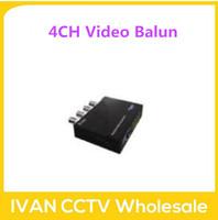 4CH Passive Video Baluns SLT-T3004N Passive Video Baluns Video Baluns BNC