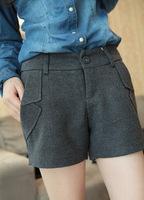 2015 Denim New Sale Shorts Women Female Short Feminino Korea Single Super Good Quality Thick Cashmere Fall And Winter Multicolor