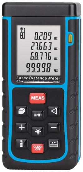 X100 100m Laser distance meter bubble level Tape tool Rangefinder Rang finder measure Area/Volume OEM Wholesale(China (Mainland))