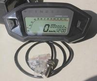 Motorcycle Digital Odometer Speedometer Tachometer Gear Dirt Bike 1,2,4 Cylinder