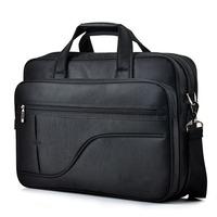 Itemship Shockproof Laptop Bags Canvas Cross-Section Men Messenger Black Color Laptop Bags  Fit For13.3-Inch Laptop