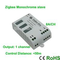 Newest!!! DC12V-24V Zigbee single color  Monochrome slave controller for single color led strip