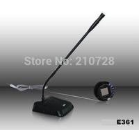 Promotion MY-E361 black full metal bank equipment window two-way interphone dual-way intercom speaker megaphone