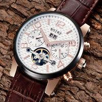 Newest 2015 hot sell Brand watch Tourbillon automatic famous design waterproof sapphire glass watches Men 18k hollow wristwatch