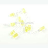 10PCS 5MM Round Yellow Led Indicator Light-emitting Diode Lamp Light Beads