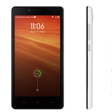 Original Xiaomi Redmi Note MTK6592 Octa Core 1.7GHz cell phone 2GB RAM 8GB ROM 5.5 inch 720p 13MP WCDMA GPS OTG MIUI V5 Dual SIM