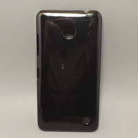 Black Hard Plastic cell Phone Casef for Nokia Lumia 630 635 free shipping