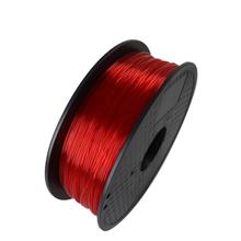 Red Color 3D Printer Filaments PLA 1.75mm 1kg Plastic Rubber Consumables Material