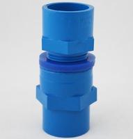 aquarium tube connector, blue color, 20mm diameter, for tube DIY