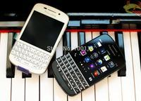 "Free shipping 3pcs /lot &100% Original Q10 BlackBerry QWERTY 8.0MP 3.1"" Capacitive touch screen Dual core 16GB ROM 3G/4G"