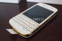 "Free shipping 10pcs /lot &100% Original Q10 BlackBerry QWERTY 8.0MP 3.1"" Capacitive touch screen Dual core 16GB ROM 3G/4G"
