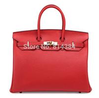 2015 Classical Brand Genuine Leather Lady Handbag Brand Copy Women Bag H Brand Bags S40010
