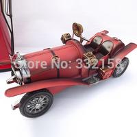 Iron retro classic car model living room home decorations crafts ornaments gift tin car