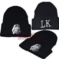 2015 New Fashion Hip Hop Black Knitting Casual Brand Designers Winter Warn Egyptian King Pharaoh Beanies Hat Man Women Skullies