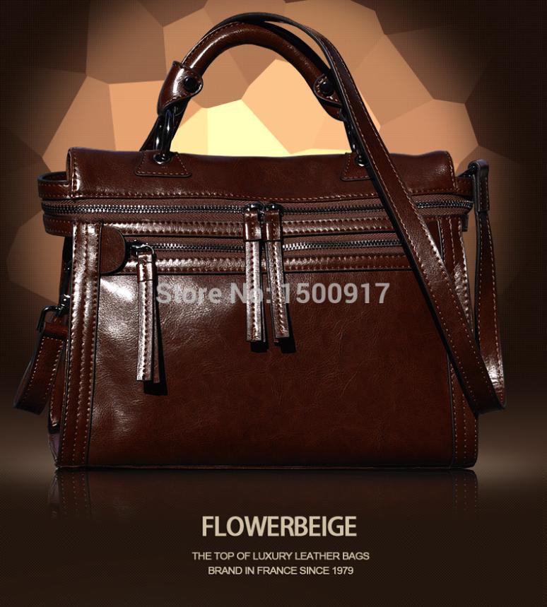 New women messenger bag fashion vintage bag motorcycle cowhide women handbag genuine leather bags women leather bag animal skin(China (Mainland))