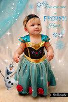 Retail 1pcs Low Price Summer Newest Children Dress Frozen girls Princess dress wide gallus Vest red flowers Dress