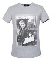 Men's T-shirt cotton - Hot Summer Dolc Men's Round Neck Collar Sport T-Shirt Tee Shirt  D7 james dean tshirt