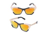 Fashion Sunglasses Women Brand Designer Sun Glasses Clubmaster Gafas De Sol Women Cat Eye Vintage Oculos De Sol Feminino 94077