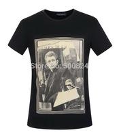 Men's T-shirt cotton - Hot Summer Dolc Men's Round Neck Collar Sport T-Shirt Tee Shirt  D6 james dean tshirt