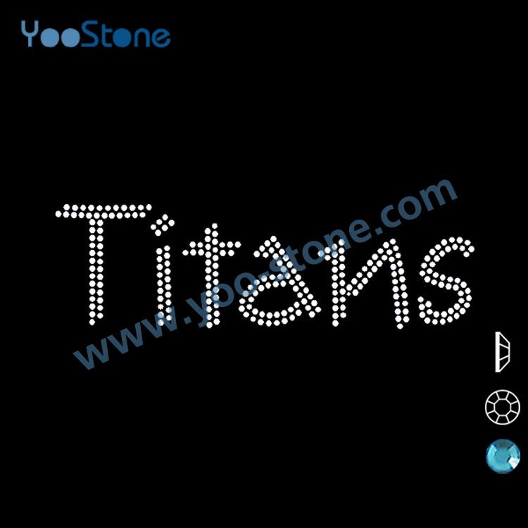 Best Sport Logos Best Selling Products in America Sport Logo Heat Transfer Customize Titans