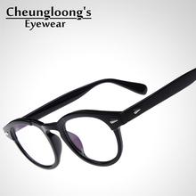 Five Colors In! Classical Vintage Eye 'Johnny Depp' glasses for men women,oculos de grau eyeglasses armacao de oculos D1-1