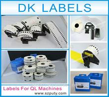 DK-11209, 29mm x62mm, die-cut thermal Paper Labels used for brother QL series label printers