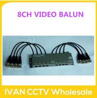 8CH Passive Video/Power/PTZ Control Balun Video Balun