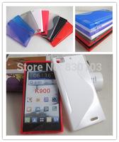 Stuff For Sale S Shape TPU Cover For Lenovo Ideaphone K900 Case Free Ship DHL