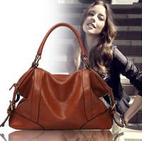 Women bags Hot The Female Leather Bag New Women Bags  Women Messenger Bag Vintage Handbag Designer Retro