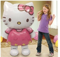 Oversized cartoon Kitty Cat foil balloons birthday decoration Christmas gifts party inflatable balloon Classic toys