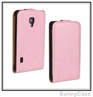 Crazy Horse PU Leather Flip Cover Case for LG Optimus L7 II P710 P714