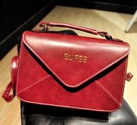 2014 women's handbag fashion vintage messenger bag envelope bag one shoulder bag cross-body handbag