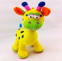 Brand baby stuffed plush toys animals Giraffe kids learning & education for children 0-12 months Free Shipping