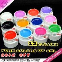 wholesale nail factory UV color gels cheap #20200W