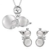 Free shipping! Latest charm women jewelry sets, Popular cute gourd design fashion jewelry set