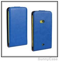 Crazy Horse PU Leather Flip Cover Case for Nokia Lumia 625