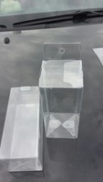 2014  transparent plastic packaging pvc boxes