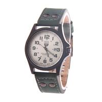 Brand Vogue Military Army Men Watches Luminous Sports Watch Top Brand PU Leather Strap, Men High Luxury Quartz Watch
