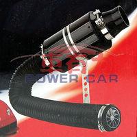 free shipping  Kracing air intake pipe  Carbon Fiber Racing Air Intake Filter Kit with fan