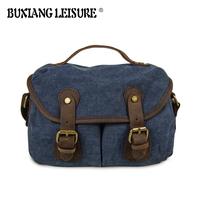 Brand Style Designer Vintage Men Canvas Bag Fashion Sport Briefcase Men Cross Body Business Shoulder Messenger Bags For Men