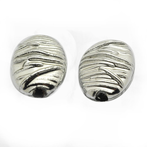 A24786 Oval Wave Lines Body Metal Alloy Beads / DIY Jewelry Accesories Fine Jewelry(China (Mainland))