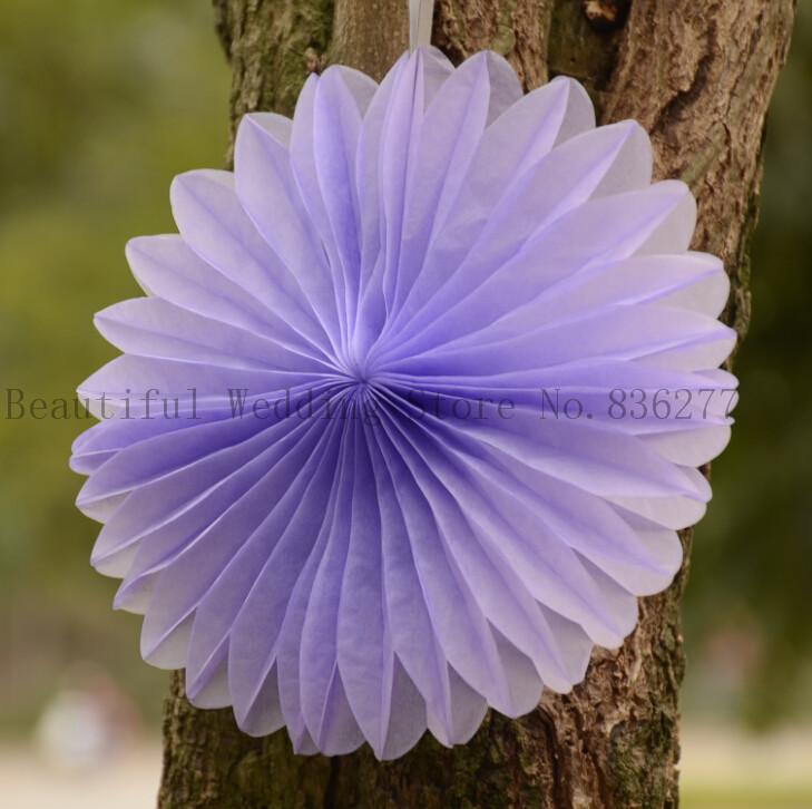 25pcs/Lot 8 Inch (20cm) Decorative Foldable Tissue Paper Fan Flower Craft Wedding Garland Modern Party Xmas Hanging Decoration(China (Mainland))