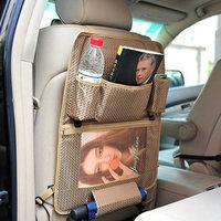 Car back bag car seat multifunctional storage bag storage bag supplies debris bag shelf