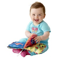 Baby educational toys The sun cloth book 1pcs 6.3*6.3'' Toys Baby toy musical Doll early development Books toy