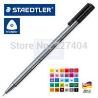 Staedtler triplus fineliner 334 triangle shu written fiber neutral pen
