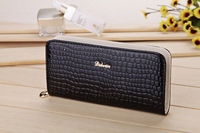 2015 New Fashion Women Wallets High Grade PU Patent Leather Stone Pattern Clutch Wallets Designer Women`s Purse P009