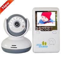 "Baby Monitor Kits 2.4GHz Wireless Digital Talk Device IR Night Vision Camera 2.4""LCD Two-Way Video Intercom Infant monitors"